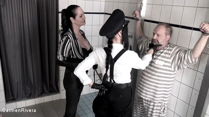 Photo number 2 from Dumm, Duemmer.. Sklave: Dummheit Muss Bestraft Werden & Das Anal Verhoer shot for Carmen Rivera on Kink.com. Featuring Carmen Rivera, Contessa Barbara Calucci and Unbekannt in hardcore BDSM & Fetish porn.