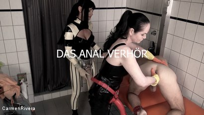 Photo number 11 from Dumm, Duemmer.. Sklave: Dummheit Muss Bestraft Werden & Das Anal Verhoer shot for Carmen Rivera on Kink.com. Featuring Carmen Rivera, Contessa Barbara Calucci and Unbekannt in hardcore BDSM & Fetish porn.