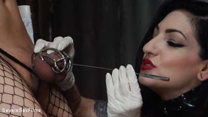 Photo number 12 from Mistress Cybill Troy is a Metallic Torment Queen shot for Severe Sex Films on Kink.com. Featuring Cybill Troy and Tener Duende in hardcore BDSM & Fetish porn.