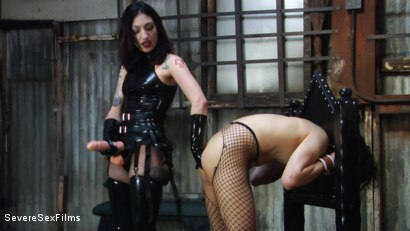 Photo number 15 from Mistress Cybill Troy is a Metallic Torment Queen shot for Severe Sex Films on Kink.com. Featuring Cybill Troy and Tener Duende in hardcore BDSM & Fetish porn.