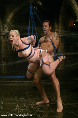 Photo number 7 from Lorelei Lee & Steven St. Croix   Have Wet & Wild Waterbondage Sex! shot for Water Bondage on Kink.com. Featuring Lorelei Lee and Steven St. Croix in hardcore BDSM & Fetish porn.