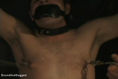 Photo number 8 from Boynapped!: Abusing the House Slave  shot for Bound And Gagged on Kink.com. Featuring Sam Dixon, Matt Sizemore and Tony Santis in hardcore BDSM & Fetish porn.