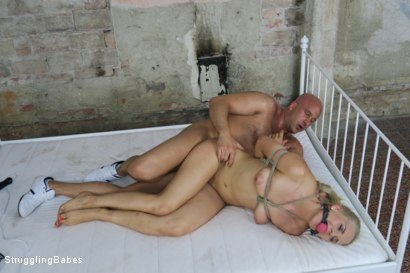 Photo number 18 from Tied up Katy gets Fucked Hardcore shot for Struggling Babes on Kink.com. Featuring Katy Sky and Marcel Lee in hardcore BDSM & Fetish porn.