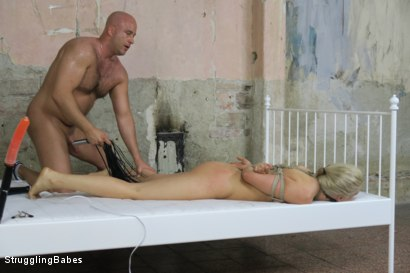 Photo number 23 from Tied up Katy gets Fucked Hardcore shot for Struggling Babes on Kink.com. Featuring Katy Sky and Marcel Lee in hardcore BDSM & Fetish porn.