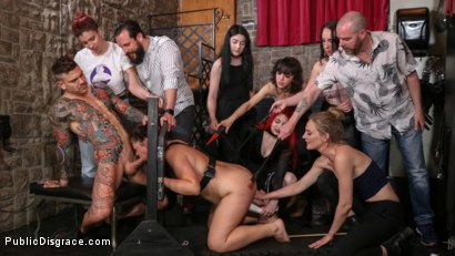 Photo number 4 from Lady Nala Screams and Begs For More From Mona Wales  shot for Public Disgrace on Kink.com. Featuring Lady Nala, Mona Wales and Juan Lucho in hardcore BDSM & Fetish porn.
