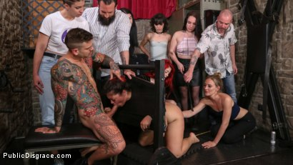 Photo number 5 from Lady Nala Screams and Begs For More From Mona Wales  shot for Public Disgrace on Kink.com. Featuring Lady Nala, Mona Wales and Juan Lucho in hardcore BDSM & Fetish porn.