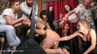 Photo number 6 from Lady Nala Screams and Begs For More From Mona Wales  shot for Public Disgrace on Kink.com. Featuring Lady Nala, Mona Wales and Juan Lucho in hardcore BDSM & Fetish porn.