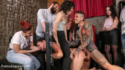Photo number 7 from Lady Nala Screams and Begs For More From Mona Wales  shot for Public Disgrace on Kink.com. Featuring Lady Nala, Mona Wales and Juan Lucho in hardcore BDSM & Fetish porn.