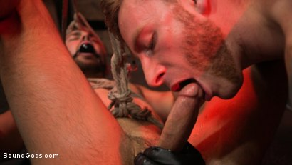 Photo number 5 from New slave Dante Colle flogged, fucked, and eager shot for Bound Gods on Kink.com. Featuring Sebastian Keys and Dante Colle in hardcore BDSM & Fetish porn.