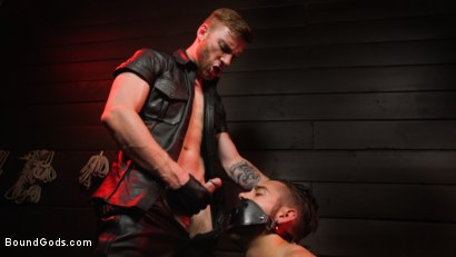 Photo number 6 from New slave Dante Colle flogged, fucked, and eager shot for Bound Gods on Kink.com. Featuring Sebastian Keys and Dante Colle in hardcore BDSM & Fetish porn.