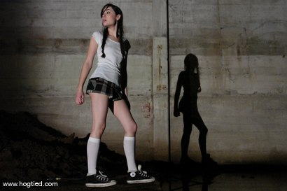 Photo number 1 from Sasha Grey Chased and Captured shot for Hogtied on Kink.com. Featuring Sasha Grey in hardcore BDSM & Fetish porn.