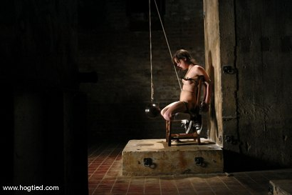 Photo number 7 from Sasha Grey Chased and Captured shot for Hogtied on Kink.com. Featuring Sasha Grey in hardcore BDSM & Fetish porn.