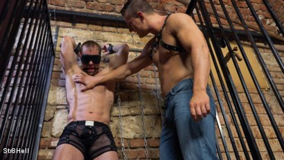 Photo number 3 from Mattias Solich - Spanking shot for Str8Hell on Kink.com. Featuring Mattias Solich and Ondra Matej in hardcore BDSM & Fetish porn.