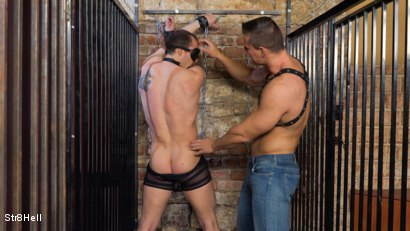 Photo number 5 from Mattias Solich - Spanking shot for Str8Hell on Kink.com. Featuring Mattias Solich and Ondra Matej in hardcore BDSM & Fetish porn.