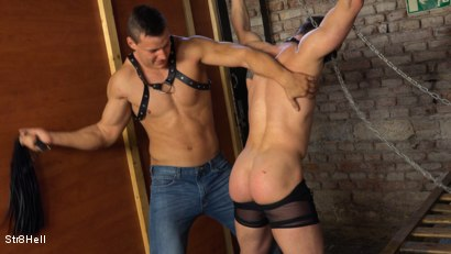 Photo number 9 from Mattias Solich - Spanking shot for Str8Hell on Kink.com. Featuring Mattias Solich and Ondra Matej in hardcore BDSM & Fetish porn.