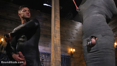 Photo number 20 from Dominic Pacifico and Chance Summerlin: Serve and Submit  shot for Bound Gods on Kink.com. Featuring Dominic Pacifico and Chance Summerlin in hardcore BDSM & Fetish porn.