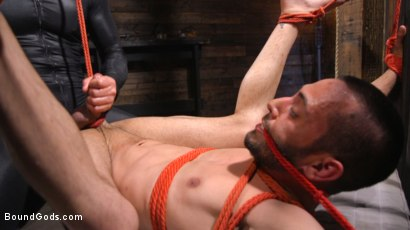 Photo number 32 from Dominic Pacifico and Chance Summerlin: Serve and Submit  shot for Bound Gods on Kink.com. Featuring Dominic Pacifico and Chance Summerlin in hardcore BDSM & Fetish porn.