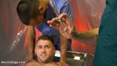 Photo number 5 from Doctor's Anal Orders: Blaze Austin edged, pumped, and stretched  shot for Men On Edge on Kink.com. Featuring Blaze Austin in hardcore BDSM & Fetish porn.