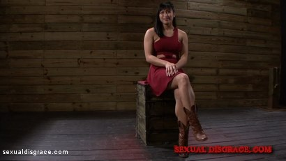 Photo number 2 from Mia Li Services her Master's Associate shot for Sexual Disgrace on Kink.com. Featuring Mia Little in hardcore BDSM & Fetish porn.