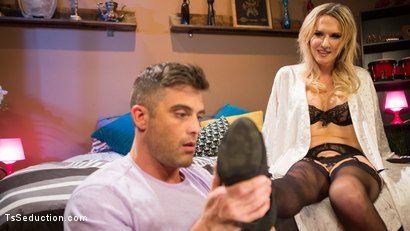 Photo number 1 from Pervert Mouth: Kayleigh Coxx Catches a Peeping Tom with a Foot Fetish. shot for TS Seduction on Kink.com. Featuring Lance Hart and Kayleigh Coxx in hardcore BDSM & Fetish porn.