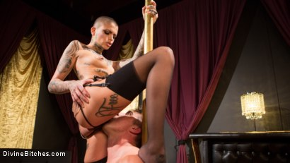 Photo number 7 from Used and Abused: Leigh Raven Punishes Lance Hart  shot for Divine Bitches on Kink.com. Featuring Leigh Raven and Lance Hart in hardcore BDSM & Fetish porn.