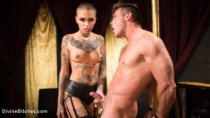 Photo number 9 from Used and Abused: Leigh Raven Punishes Lance Hart  shot for Divine Bitches on Kink.com. Featuring Leigh Raven and Lance Hart in hardcore BDSM & Fetish porn.