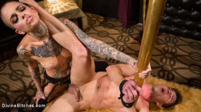 Photo number 17 from Used and Abused, Leigh Raven Punishes Lance Hart  shot for Divine Bitches on Kink.com. Featuring Leigh Raven and Lance Hart in hardcore BDSM & Fetish porn.