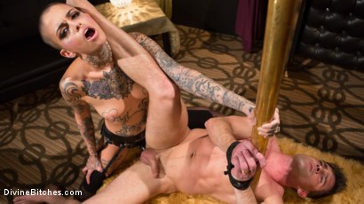 Photo number 18 from Used and Abused, Leigh Raven Punishes Lance Hart  shot for Divine Bitches on Kink.com. Featuring Leigh Raven and Lance Hart in hardcore BDSM & Fetish porn.