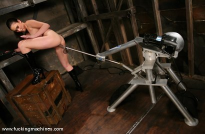 Photo number 6 from Surprise Squirter shot for Fucking Machines on Kink.com. Featuring Sakura Scott in hardcore BDSM & Fetish porn.