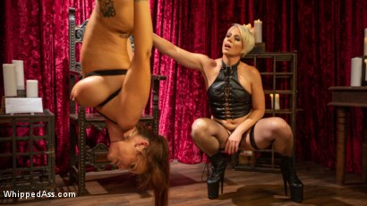 Photo number 5 from Syren de Mer Submits Every Hole to Helena Locke shot for Whipped Ass on Kink.com. Featuring Helena Locke and Syren de Mer in hardcore BDSM & Fetish porn.