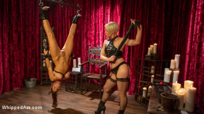 Photo number 1 from Syren de Mer Submits Every Hole to Helena Locke shot for Whipped Ass on Kink.com. Featuring Helena Locke and Syren de Mer in hardcore BDSM & Fetish porn.