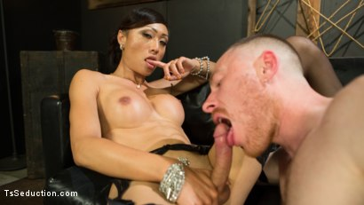 Photo number 14 from Obedient Boy: Venus Lux Torments & Fucks Her Delivery Boy shot for TS Seduction on Kink.com. Featuring Venus Lux and Damien Moreau in hardcore BDSM & Fetish porn.