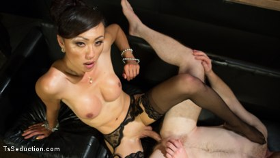 Photo number 17 from Obedient Boy: Venus Lux Torments & Fucks Her Delivery Boy shot for TS Seduction on Kink.com. Featuring Venus Lux and Damien Moreau in hardcore BDSM & Fetish porn.