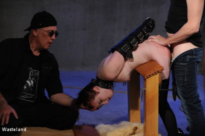 Photo number 11 from Another Course from the Master shot for Wasteland on Kink.com. Featuring David Lawrence, Tyler and Giselle Humes in hardcore BDSM & Fetish porn.