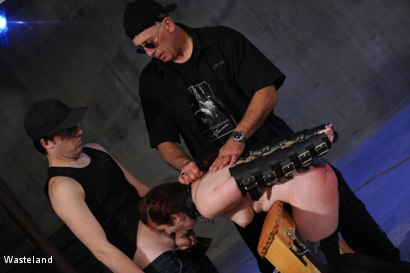 Photo number 9 from Another Course from the Master shot for Wasteland on Kink.com. Featuring David Lawrence, Tyler and Giselle Humes in hardcore BDSM & Fetish porn.