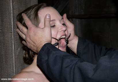 Photo number 5 from Local Girl shot for Device Bondage on Kink.com. Featuring Ky in hardcore BDSM & Fetish porn.