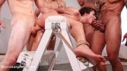 Photo number 11 from Isabella Nice Banged by Five Big Dicked Burglars   shot for Bound Gang Bangs on Kink.com. Featuring Donny Sins, Eddie Jaye, Mr. Pete, Ramon Nomar, Isabella Nice  and Zac Wild in hardcore BDSM & Fetish porn.