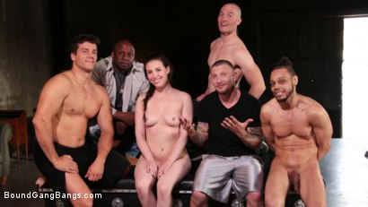Photo number 26 from Casey Calvert's Double-Penetration Suspension shot for Bound Gang Bangs on Kink.com. Featuring Casey Calvert , Donny Sins, Mr. Pete, Prince Yahshua, Ramon Nomar and Zac Wild in hardcore BDSM & Fetish porn.