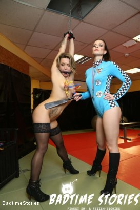Photo number 5 from German Slave Fisted and Squirts in BDSM with Dominatrix shot for Badtime Stories on Kink.com. Featuring Smorlow, Annika Rose and Eva Adams in hardcore BDSM & Fetish porn.