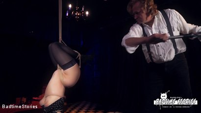 Photo number 13 from Obedient German Slave Tied and Tormented in Intense BDSM: Part 1 shot for Badtime Stories on Kink.com. Featuring Smorlow, Kerenka, Mac Troy, Hagen Bondage and Mary O in hardcore BDSM & Fetish porn.
