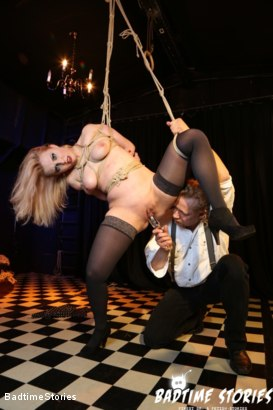 Photo number 3 from Obedient German Slave Tied and Tormented in Intense BDSM: Part 1 shot for Badtime Stories on Kink.com. Featuring Smorlow, Kerenka, Mac Troy, Hagen Bondage and Mary O in hardcore BDSM & Fetish porn.