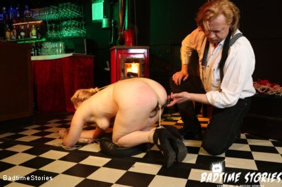 Photo number 4 from Submissive German Mary O. Tormented in Hardcore BDSM: Part 2 shot for Badtime Stories on Kink.com. Featuring Smorlow, Hagen Bondage and Mary O in hardcore BDSM & Fetish porn.