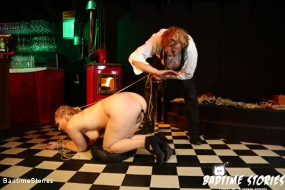 Photo number 5 from Submissive German Mary O. Tormented in Hardcore BDSM: Part 2 shot for Badtime Stories on Kink.com. Featuring Smorlow, Hagen Bondage and Mary O in hardcore BDSM & Fetish porn.