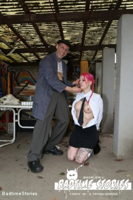 Photo number 1 from German Babe Bound and Tormented by Master and Dominatrix shot for Badtime Stories on Kink.com. Featuring Smorlow, Lady Velvetsteel and Lyla Las Vegas in hardcore BDSM & Fetish porn.