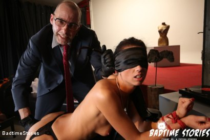 Photo number 1 from BDSM and Deep Ass Fingering for Slave Girl July Sun shot for Badtime Stories on Kink.com. Featuring July Sun, Smorlow and Tommi O in hardcore BDSM & Fetish porn.