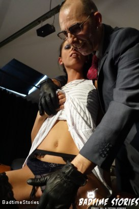 Photo number 9 from BDSM and Deep Ass Fingering for Slave Girl July Sun shot for Badtime Stories on Kink.com. Featuring July Sun, Smorlow and Tommi O in hardcore BDSM & Fetish porn.