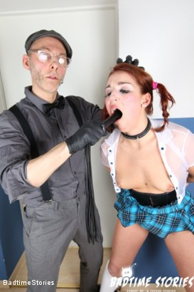 Photo number 1 from German Girl Submits to Master and Dominatrix in BDSM shot for Badtime Stories on Kink.com. Featuring Smorlow, Princess Of Pain and Ariana Love in hardcore BDSM & Fetish porn.