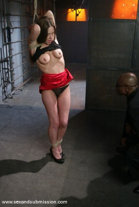 Photo number 4 from Jade Marx shot for Sex And Submission on Kink.com. Featuring Jade Marxxx and Sean Michaels in hardcore BDSM & Fetish porn.