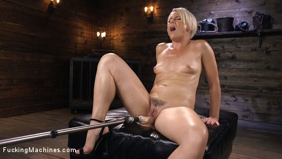 Photo number 9 from Sexy Blonde Cougar Gets Machine Fucked shot for Fucking Machines on Kink.com. Featuring Helena Locke in hardcore BDSM & Fetish porn.