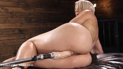 Photo number 12 from Sexy Blonde Cougar Gets Machine Fucked shot for Fucking Machines on Kink.com. Featuring Helena Locke in hardcore BDSM & Fetish porn.